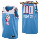 Camisetas Sacramento Kings Willie Cauley Stein Nike Azul Ciudad 2017-2018