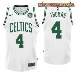 Camisetas Boston Celtics Isaiah Thomas Blanco 2017-2018