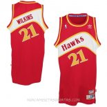 Camisetas Atlanta Hawks Dominique Wilkins Rojo