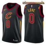 Camisetas Cleveland Cavaliers Kevin Love Negro Statement 2017-2018