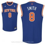 Camisetas New York Knicks J.R.Smith Azul