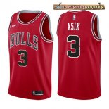 Camisetas Chicago Bulls Dwyane Wade Rojo Icon 2017-2018