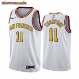 Camisetas NBA Nike Golden State Warriors Klay Thompson Blanco Classic Edition 2019-20