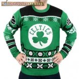 NBA Unisex Ugly Sweater Boston Celtics Verde