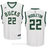 Camisetas Milwaukee Bucks Khris Middleton Blanco