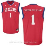Camisetas Philadelphia Sixers Michael Carter Williams Rojo