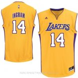 Camisetas Los Angeles Lakers Ingram Amarillo