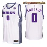 Camisetas Sacramento Kings Willie Cauley Stein Blanco 2017-2018