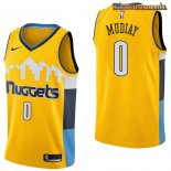 Camisetas Denver Nuggets Emmanuel Mudiay Amarillo Statement 2017-2018