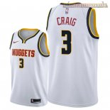 Camisetas Nike Denver Nuggets Torrey Craig Blanco Association 2018-2019