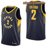 Camisetas Indiana Pacers Darren Collison Marino Icon 2017-2018