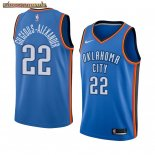 Camisetas NBA Nike Oklahoma City Thunder Gilgeous Alexander Azul Icon Edition