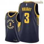 Camisetas Indiana Pacers Aaron Holiday Marino Icon 2018