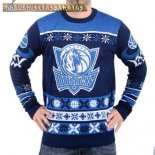 NBA Unisex Ugly Sweater Dallas Mavericks Azul
