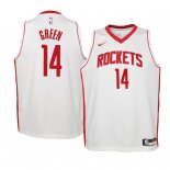 Camisetas Niños Houston Rockets Gerald Green Blanco Association 2019-20