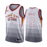 Camisetas NBA Utah Jazz Joe Ingles Blanco Throwback