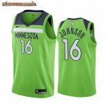 Camisetas NBA Nike Minnesota Timberwolves James Johnson Verde Statement 2019-20