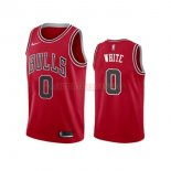 Camisetas Chicago Bulls Coby White Rojo Icon 2019-2020