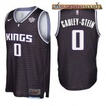 Camisetas Sacramento Kings Willie Cauley Stein Negro 2017-2018
