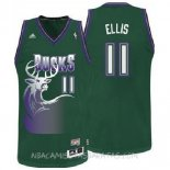 Camisetas Milwaukee Bucks Monta Ellis Verde