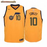 Camisetas Niños Utah Jazz Mike Conley Amarillo Statement 2019-20