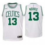 Camisetas Niños Boston Celtics Marcus Morris Blanco Association 2018