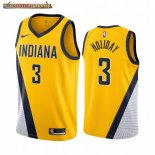 Camisetas Indiana Pacers Aaron Holiday Amarillo Statement 2019-20