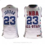 Camisetas 2003 All Star Michael Jordan Blanco