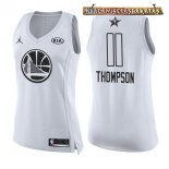 Camisetas Mujer 2018 All Star Klay Thompson Blanco