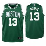Camisetas Niños Boston Celtics Marcus Morris Verde Icon 2018