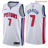 Camisetas Nike Detroit Pistons Stanley Johnson Blanco Association 2018