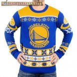 NBA Unisex Ugly Sweater Golden State Warriors Azul