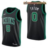 Camisetas Boston Celtics Jayson Tatum Negro Statement 2017-2018