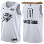 Camisetas 2018 All Star Russell Westbrook Blanco
