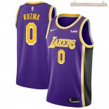 Camisetas Los Angeles Lakers Kyle Kuzma Púrpura 2018-2019