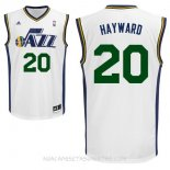 Camisetas Utah Jazz Gordon Hayward Blanco
