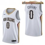 Camisetas New Orleans Pelicans DeMarcus Cousins Blanco Association 2017-2018