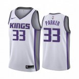 Camisetas NBA Nike Sacramento Kings Jabari Parker Blanco Association 2019-20