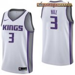 Camisetas Sacramento Kings George Hill Blanco Association 2017-2018