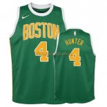 Camisetas Niños Edición ganada Boston Celtics R.J. Hunter Verde 2018-19