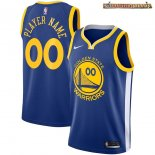 Camisetas NBA Golden State Warriors Personalizada Azul Icon 2018