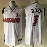 Camisetas Miami Heat Chris Bosh Retro Blanco