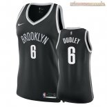 Camisetas Mujer Brooklyn Nets Jared Dudley Negro Icon 2018