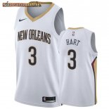 Camisetas New Orleans Pelicans Josh Hart Blanco Association 2019-20