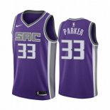 Camisetas NBA Nike Sacramento Kings Jabari Parker Purpura Icon 2019-20