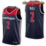 Camisetas Washington Wizards John Wall Marino Statement 2017-2018