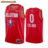 Camisetas 2020 All Star Damian Lillard Rojo