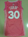 Camisetas Mujer Golden State Warriors Stephen Curry Rosa