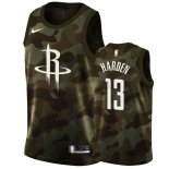 Camisetas Niños Houston Rockets James Harden Camuflaje 2019