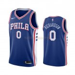 Camisetas Philadelphia Sixers Josh Richardson Azul Icon 2019-2020